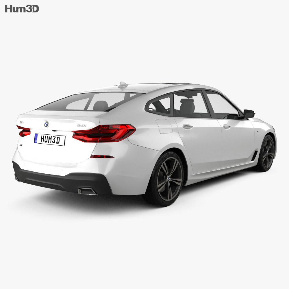Bmw Sport: BMW 6-series (G32) Gran Turismo M Sport 2017 3D Model