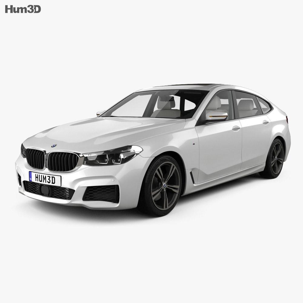 Bmw 6 Series Gran Turismo M Sport With Hq Interior 2017 Model