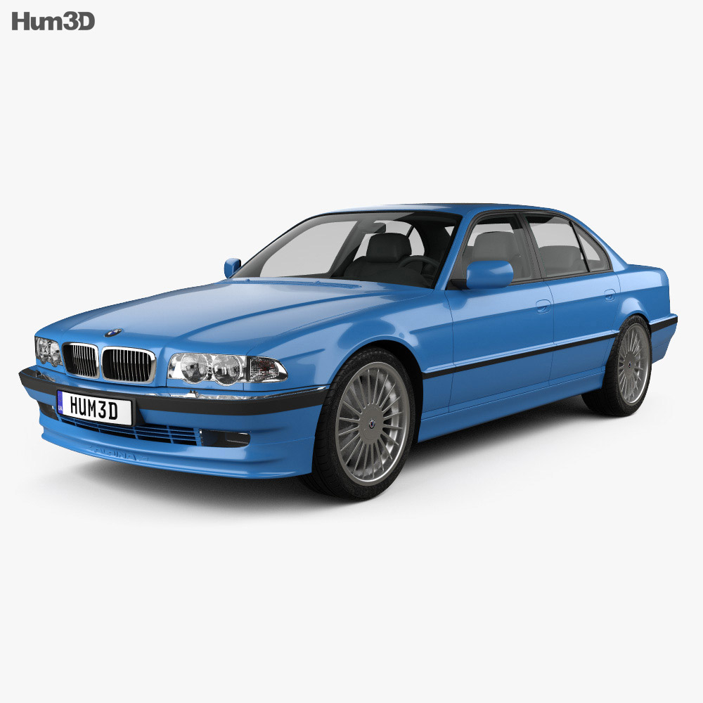 BMW 7 Series B12 Alpina 1999 3d model