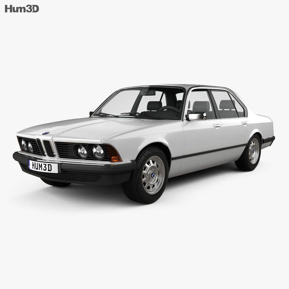 BMW 7 Series (E23) 1982 3d model
