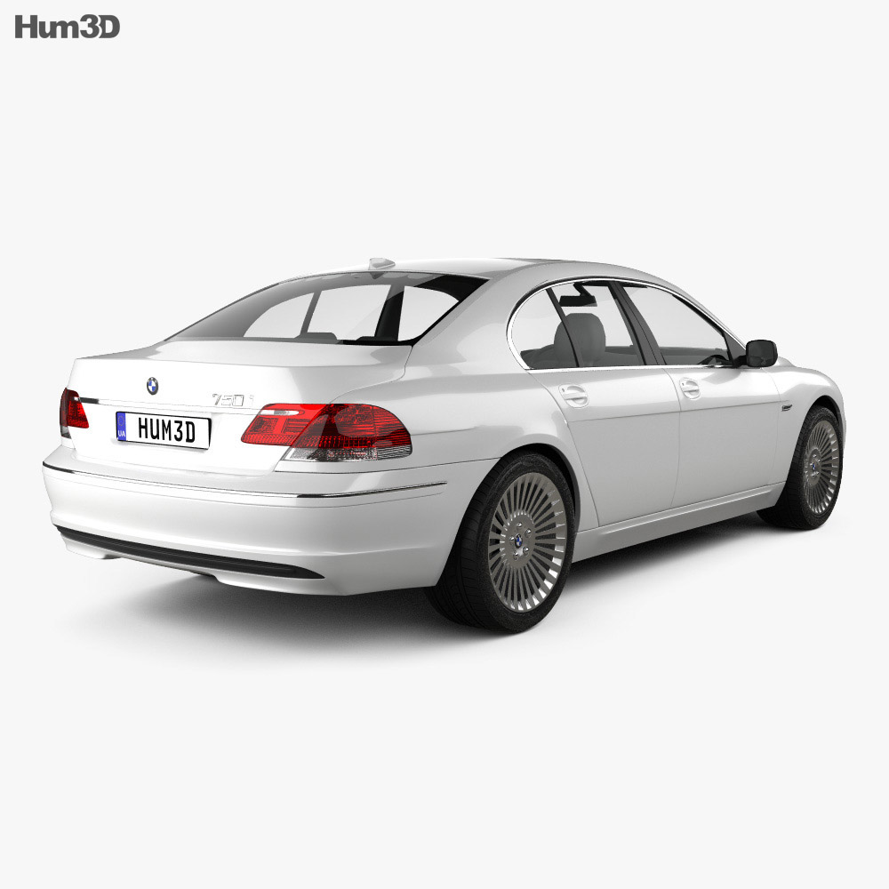 BMW 7 Series (E65) 2008 3d model