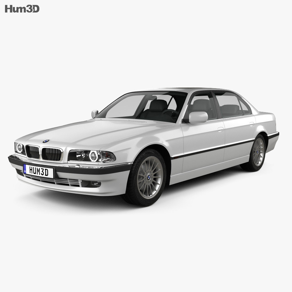 BMW 7 series L e38 1998 3d model