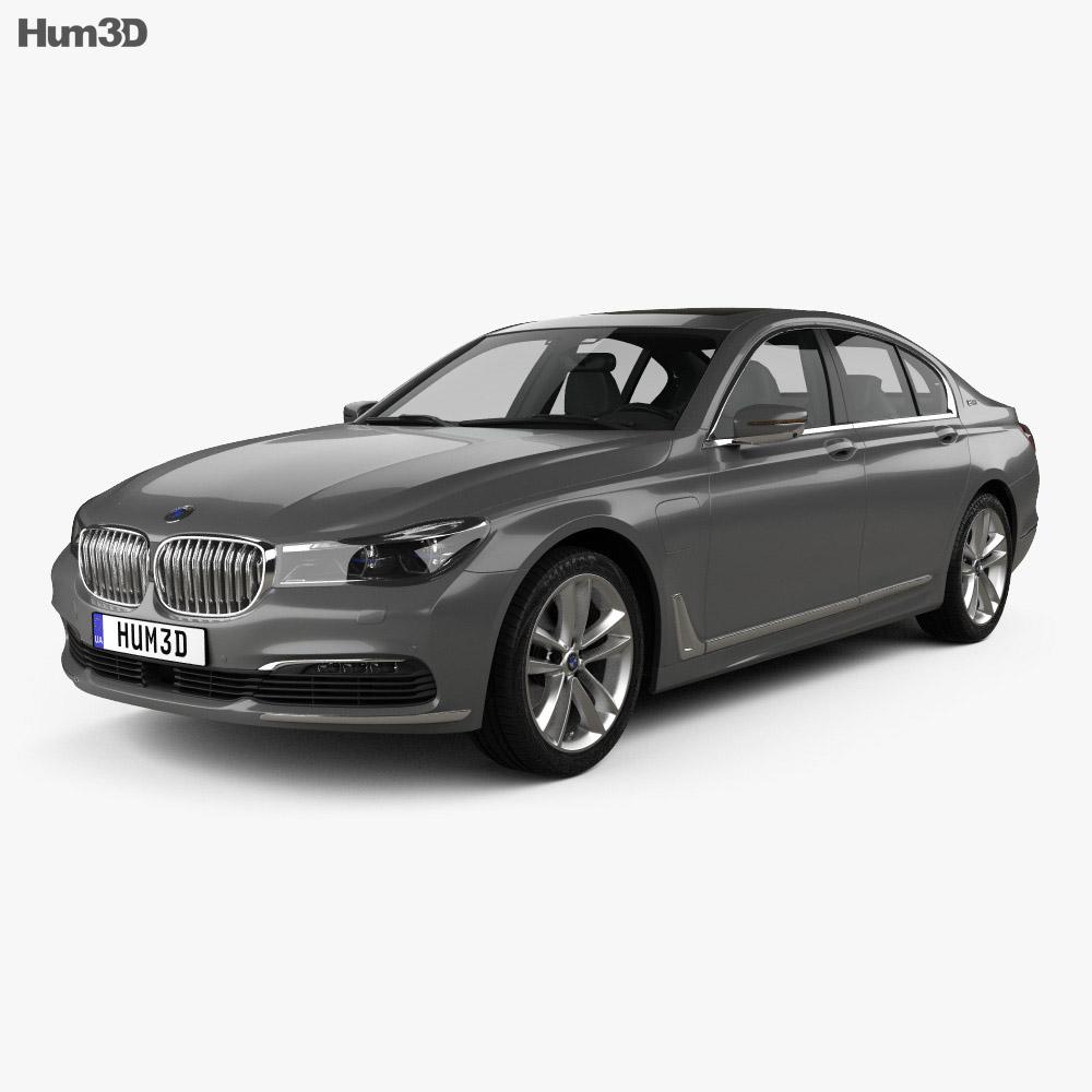 Bmw 7 Series: BMW 7 Series (G12) Le 2015 3D Model