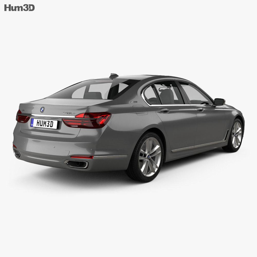 BMW 7 series (G12) Le 2015 3d model