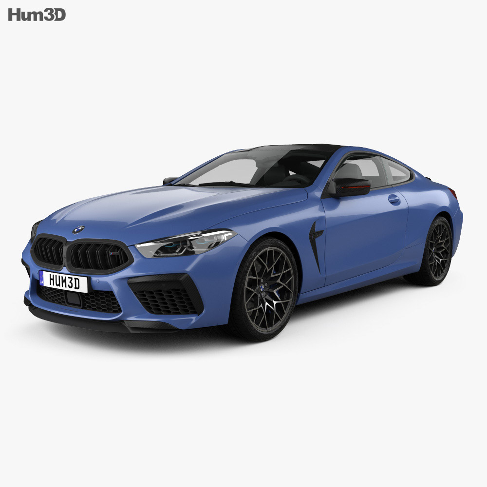 2019 Bmw 2 Series: BMW 8 Series (F92) M8 Competition Coupe 2019 3D Model