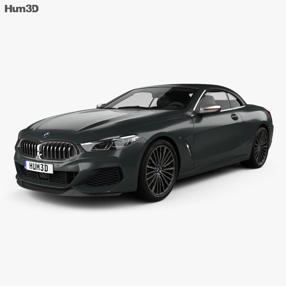 BMW 8 Series M850i convertible 2019 3d model