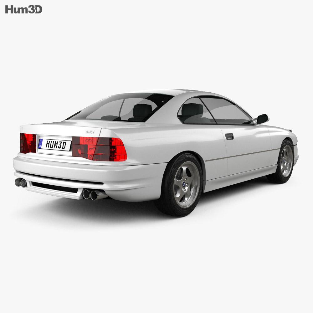 BMW 8 Series (E31) 1999 3d model