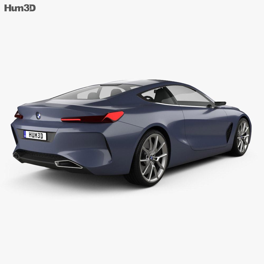 BMW 8 Series 2017 3d model