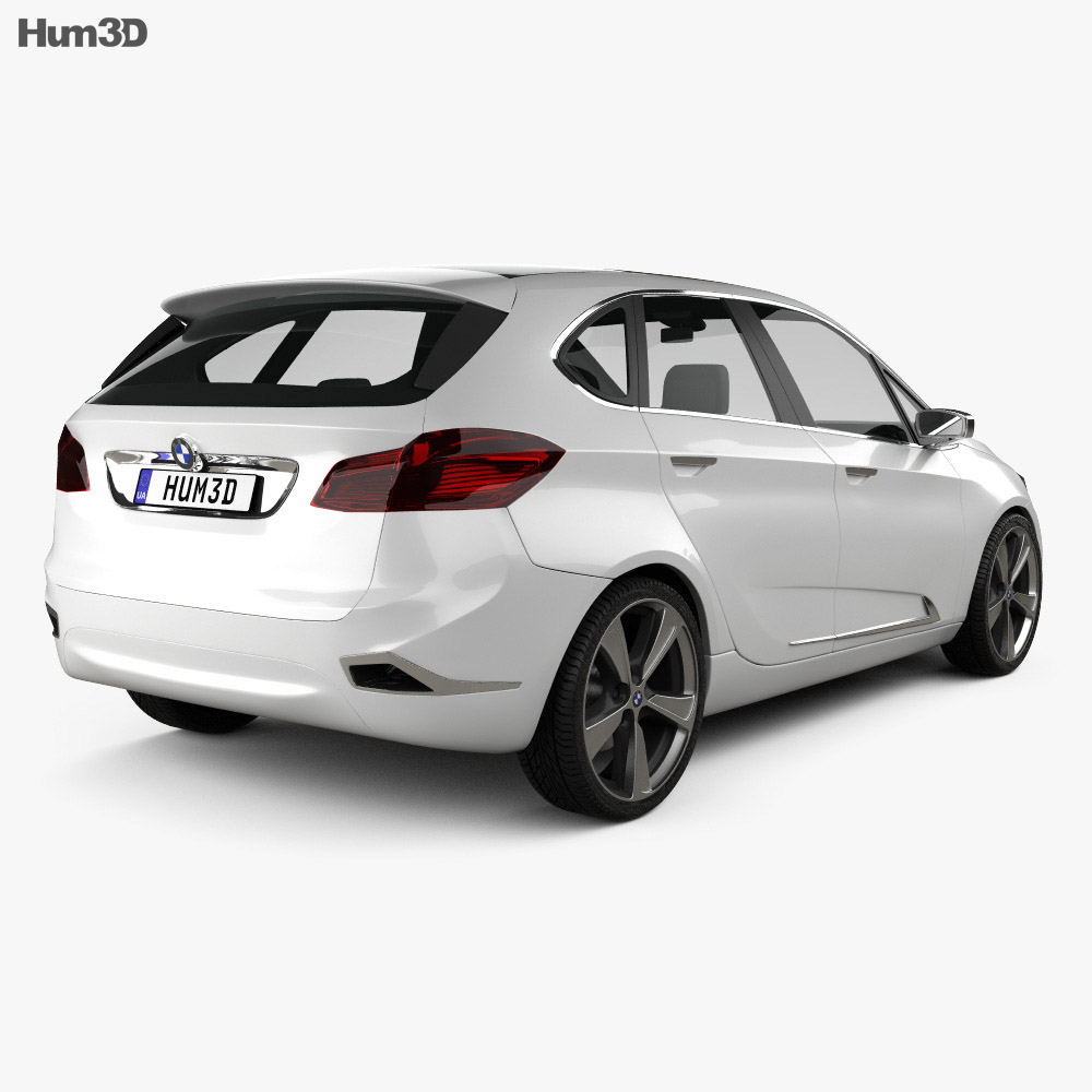 BMW Active Tourer concept 2012 3d model