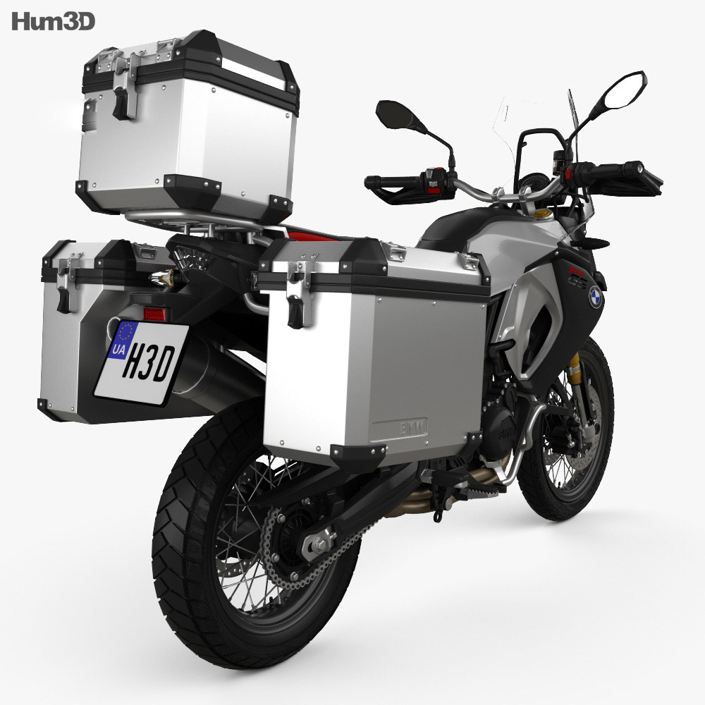 BMW F800GS Adventure 2014 3d model