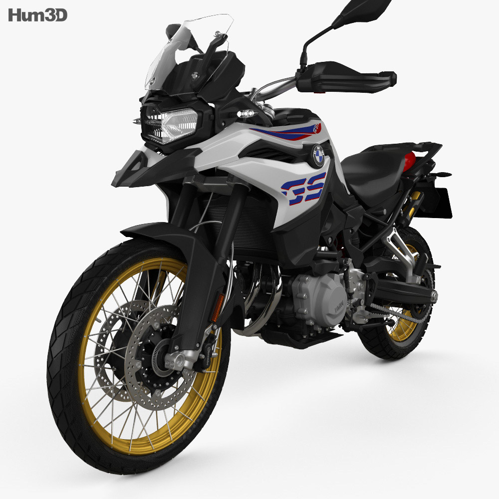 bmw f850gs 2018 3d model vehicles on hum3d. Black Bedroom Furniture Sets. Home Design Ideas