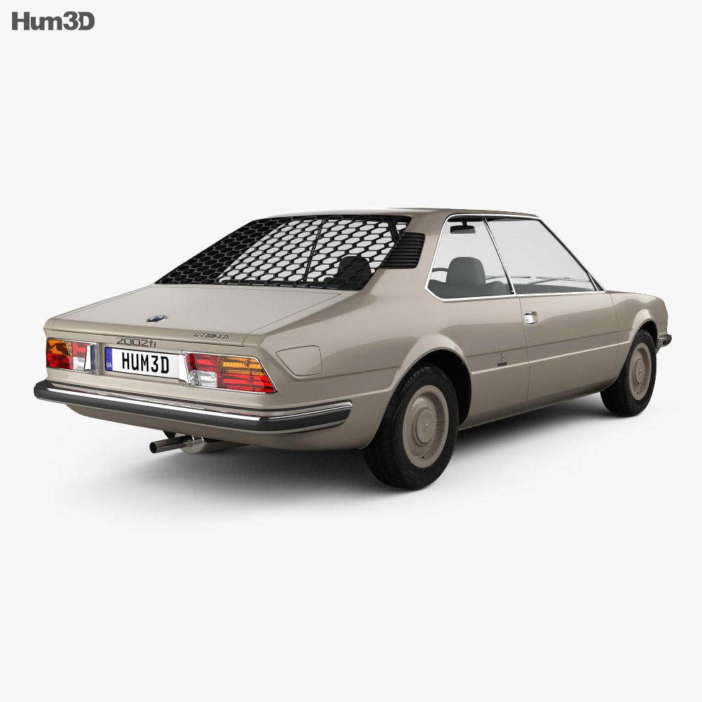 BMW Garmisch Recreation 2020 3d model