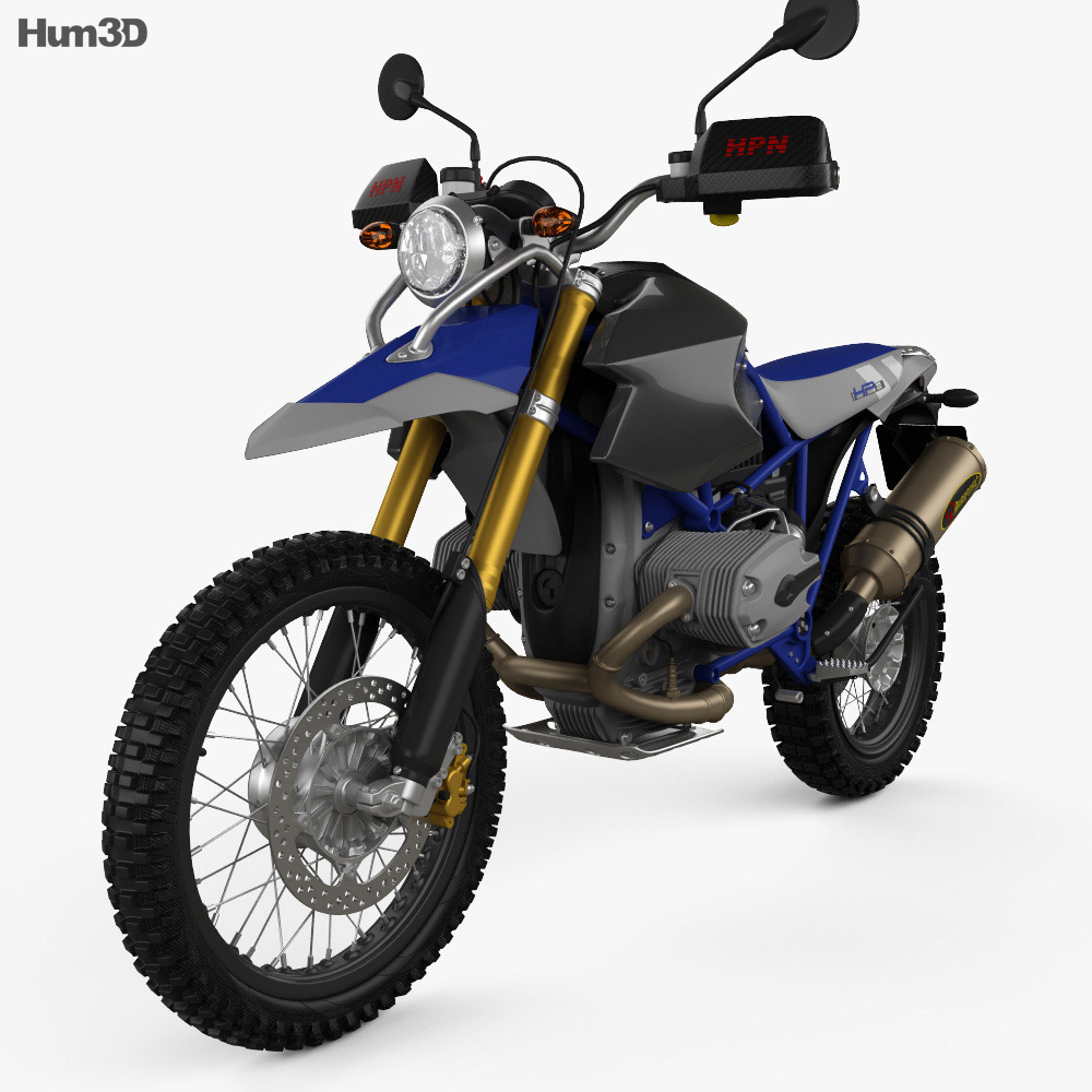 BMW HP2 HPN Enduro 2015 3d model