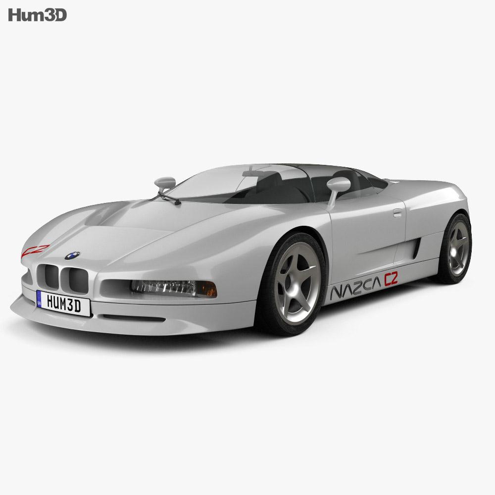 BMW Nazca C2 1991 3d model