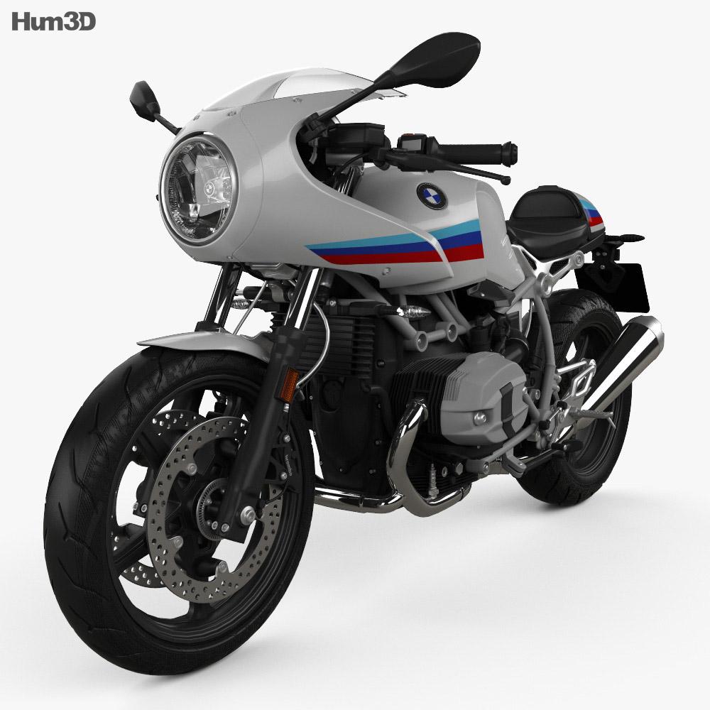 BMW R nineT Racer 2017 3d model