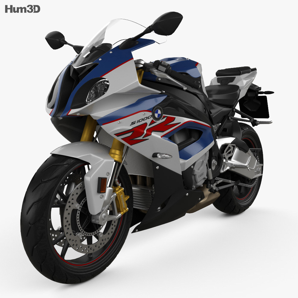 bmw s1000rr 2018 3d model - vehicles on hum3d
