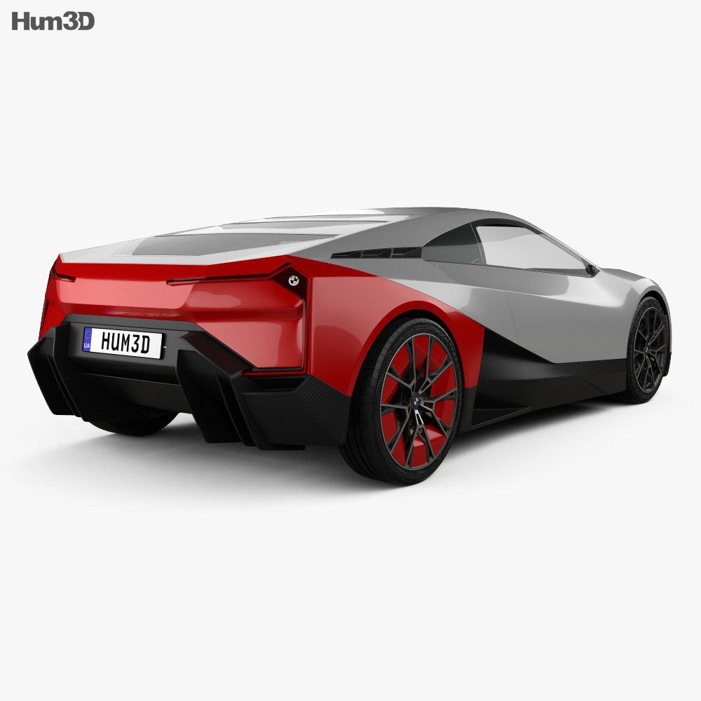 BMW Vision M Next 2019 3d model