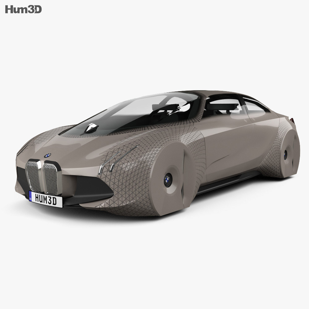 BMW Vision Next 100 2016 3d model