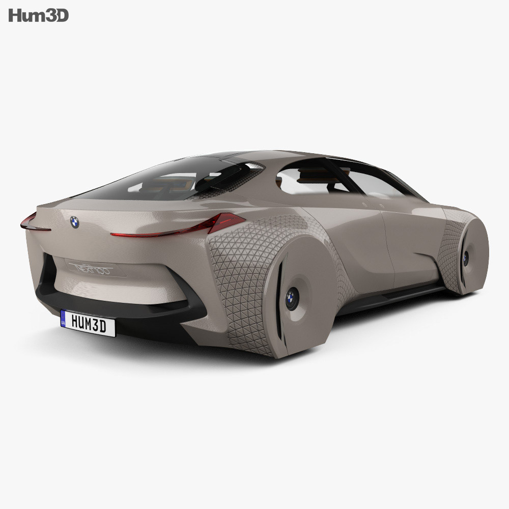BMW Vision Next 100 with HQ interior 2016 3d model