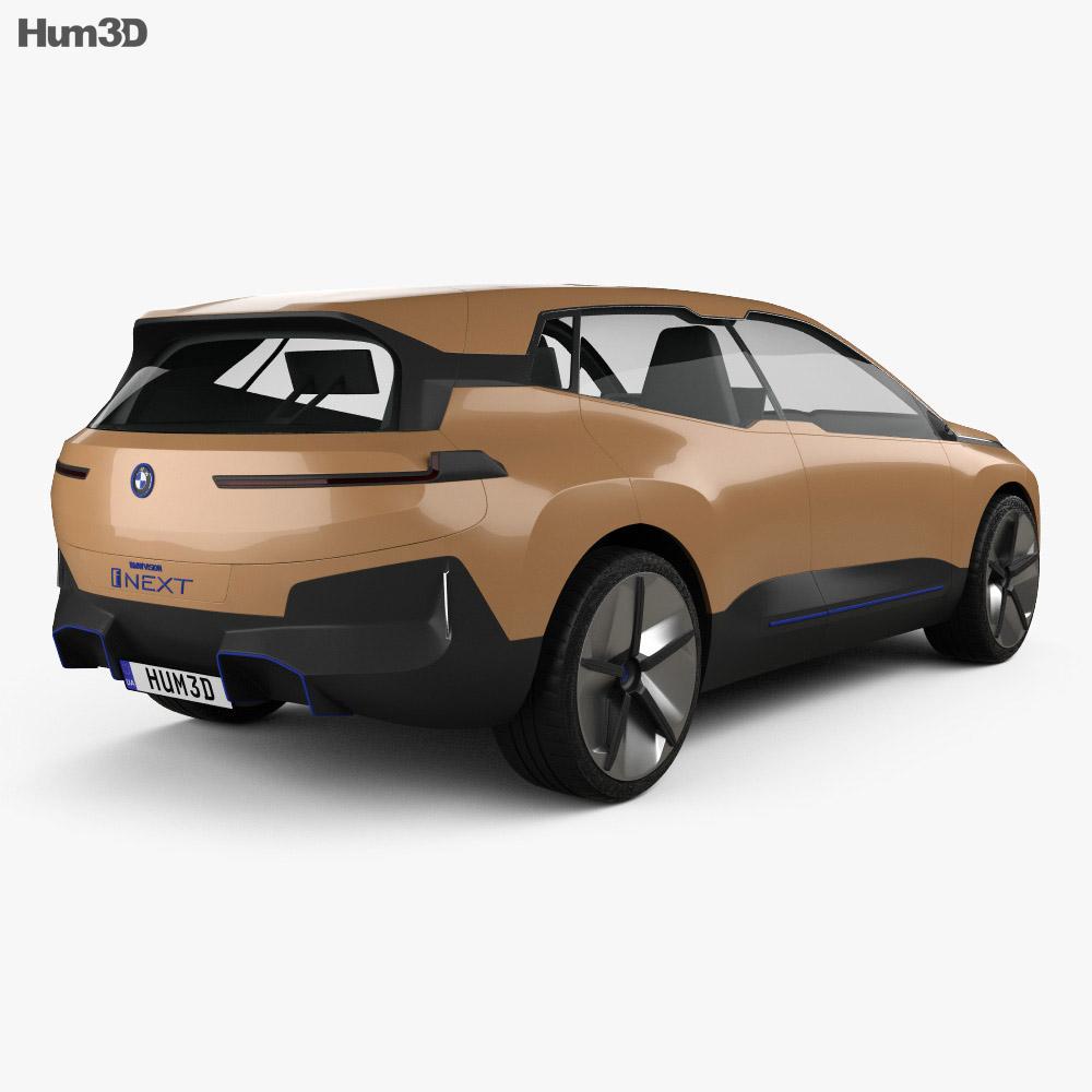 BMW Vision iNEXT 2018 3d model