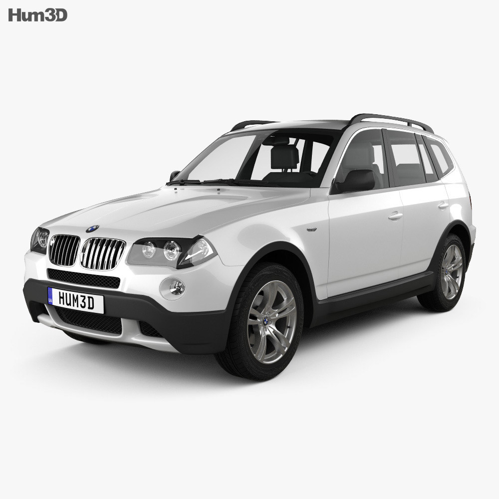 bmw x3 e83 2003 3d model vehicles on hum3d. Black Bedroom Furniture Sets. Home Design Ideas