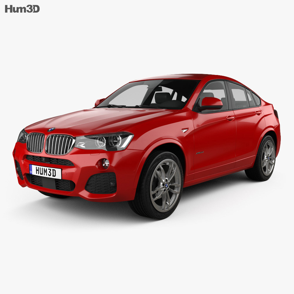 Bmw Sport: BMW X4 M Sport Package (F26) 2014 3D Model