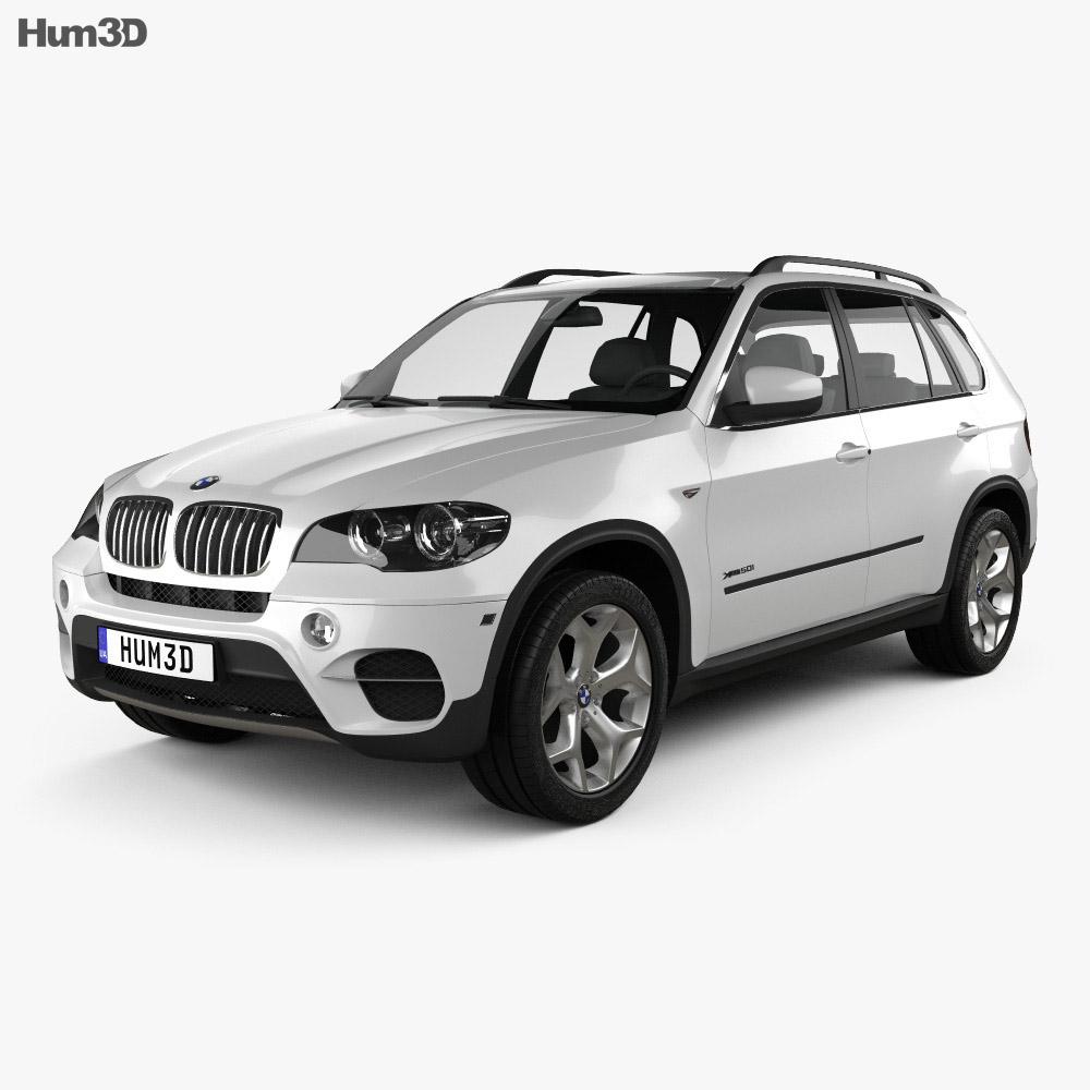 BMW X5 E70 2011 3d model