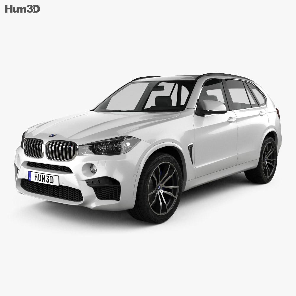 Bmw Z5 M: BMW X5 M (F15) 2014 3D Model