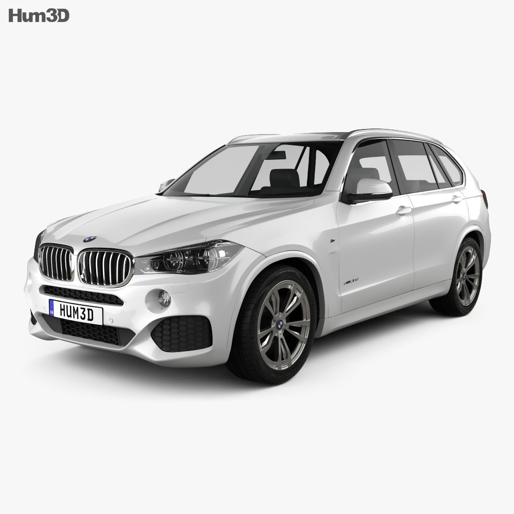 BMW X5 M Sport Package (F15) 2014 3d model