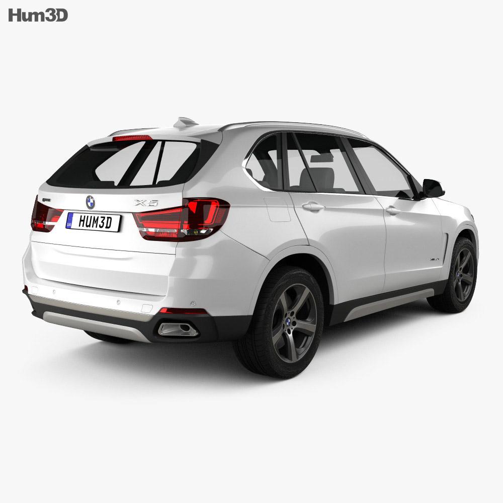 BMW X5 (F15) e 2014 3d model