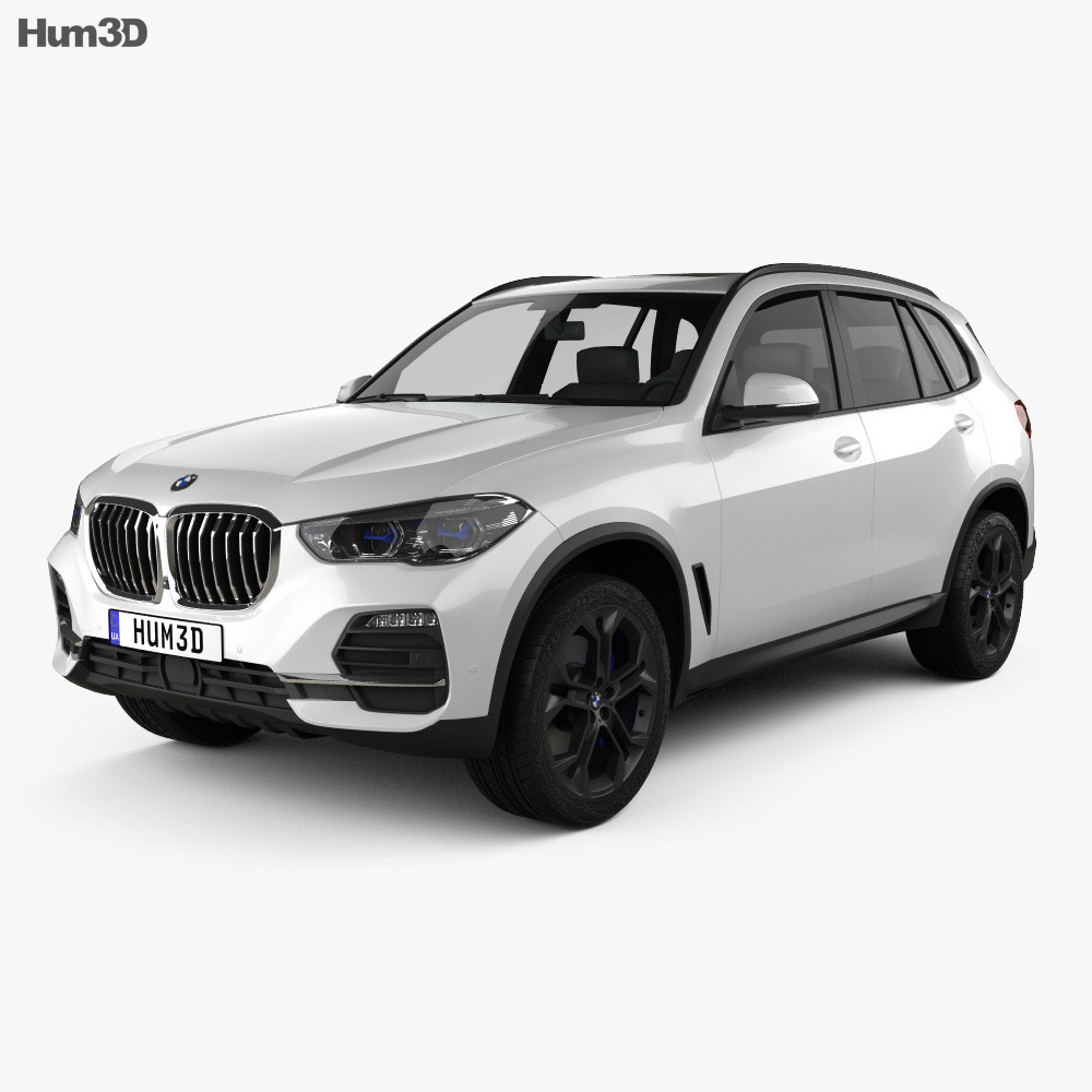 BMW X5 2019 3d model