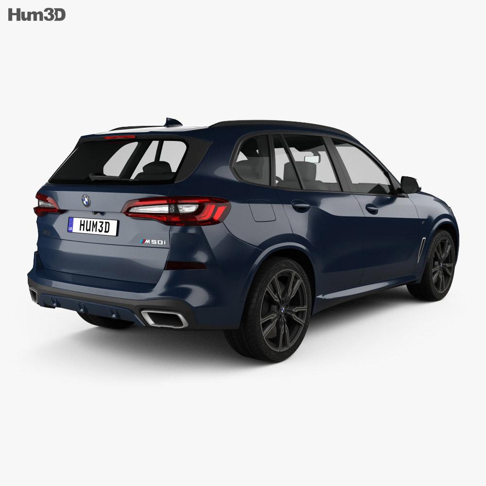 BMW X5 M 2019 3d model