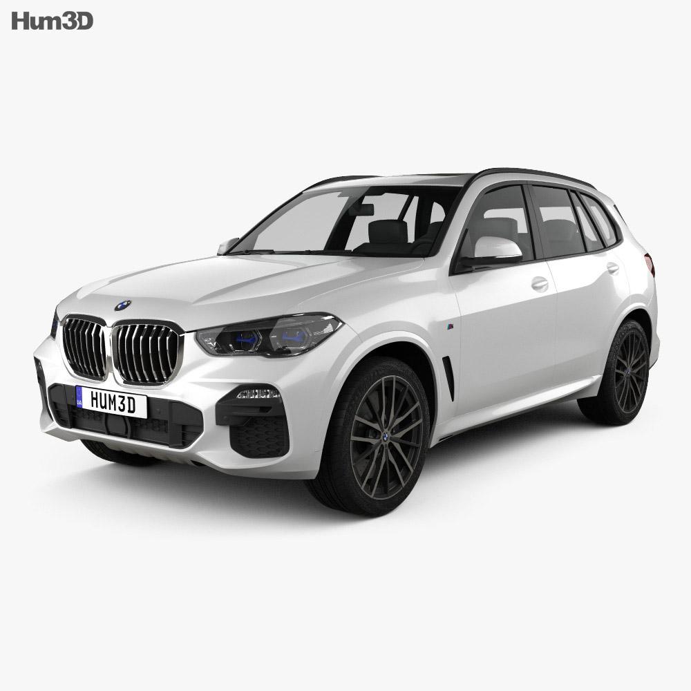 Bmw 2019: BMW X5 (G05) M Sport 2019 3D Model