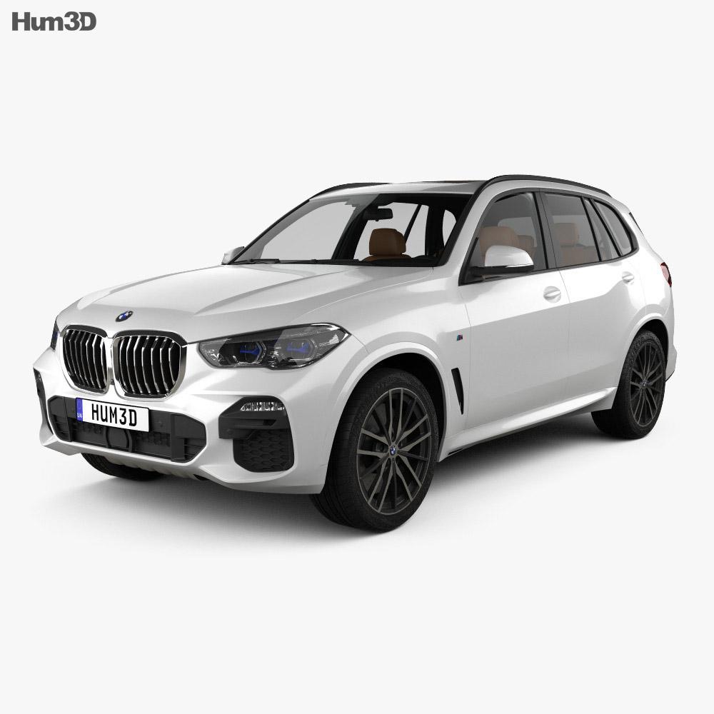 Bmw X5 M Sport With Hq Interior 2019 3d Model