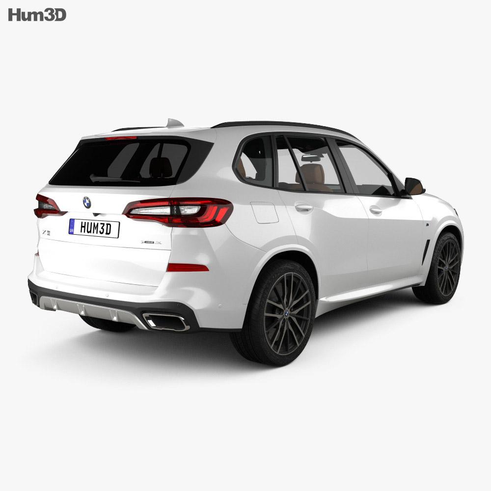 BMW X5 M-sport with HQ interior 2019 3d model