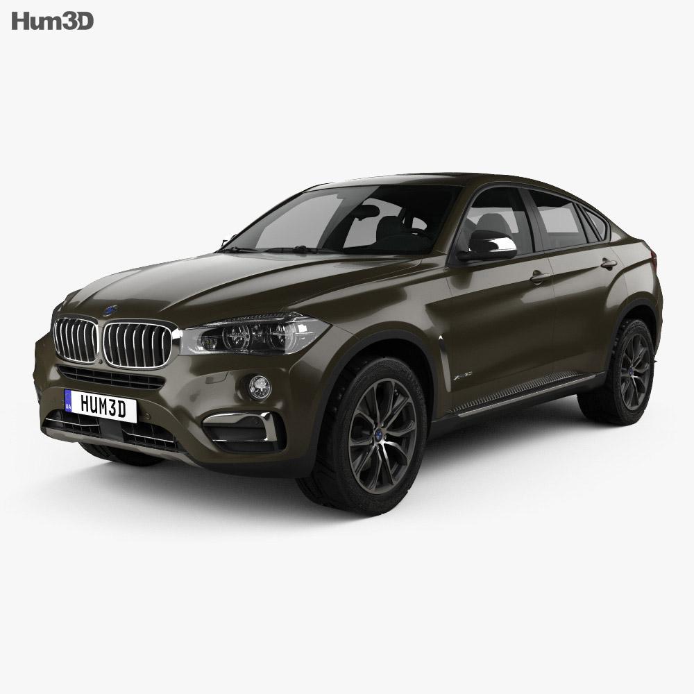 BMW X6 (F16) 2014 3d model