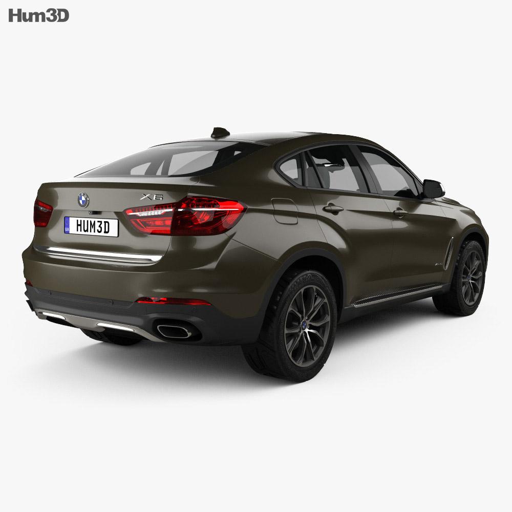 Bmw X6 Video Review: BMW X6 (F16) 2014 3D Model