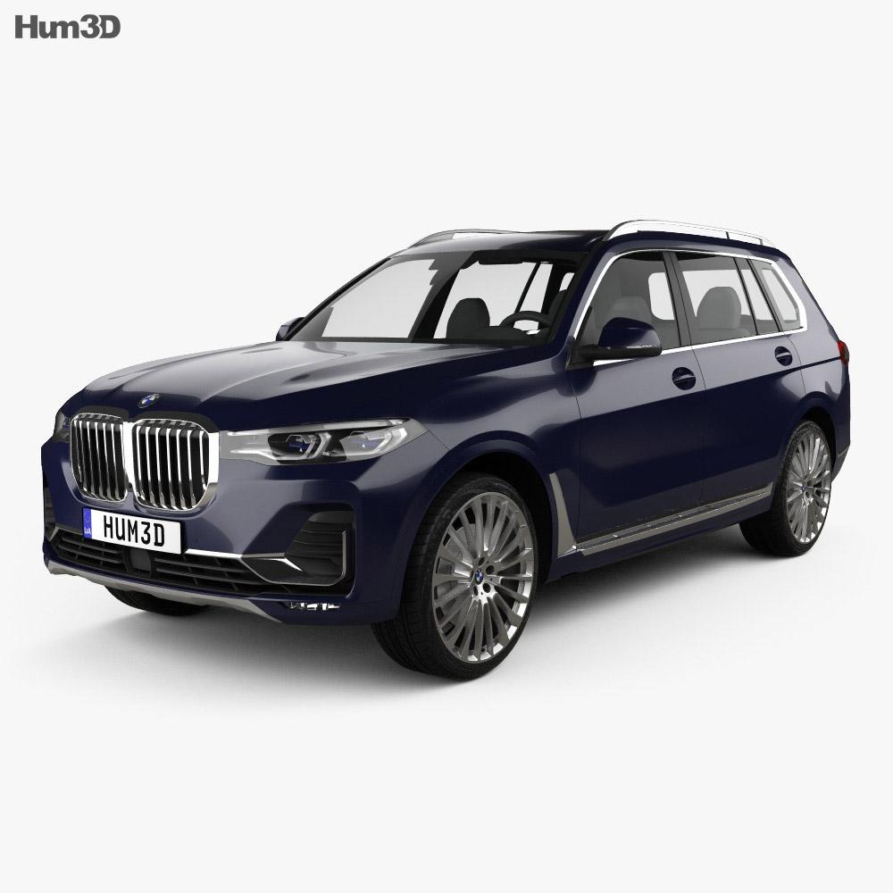 Bmw 2019: BMW X7 (G07) 2019 3D Model