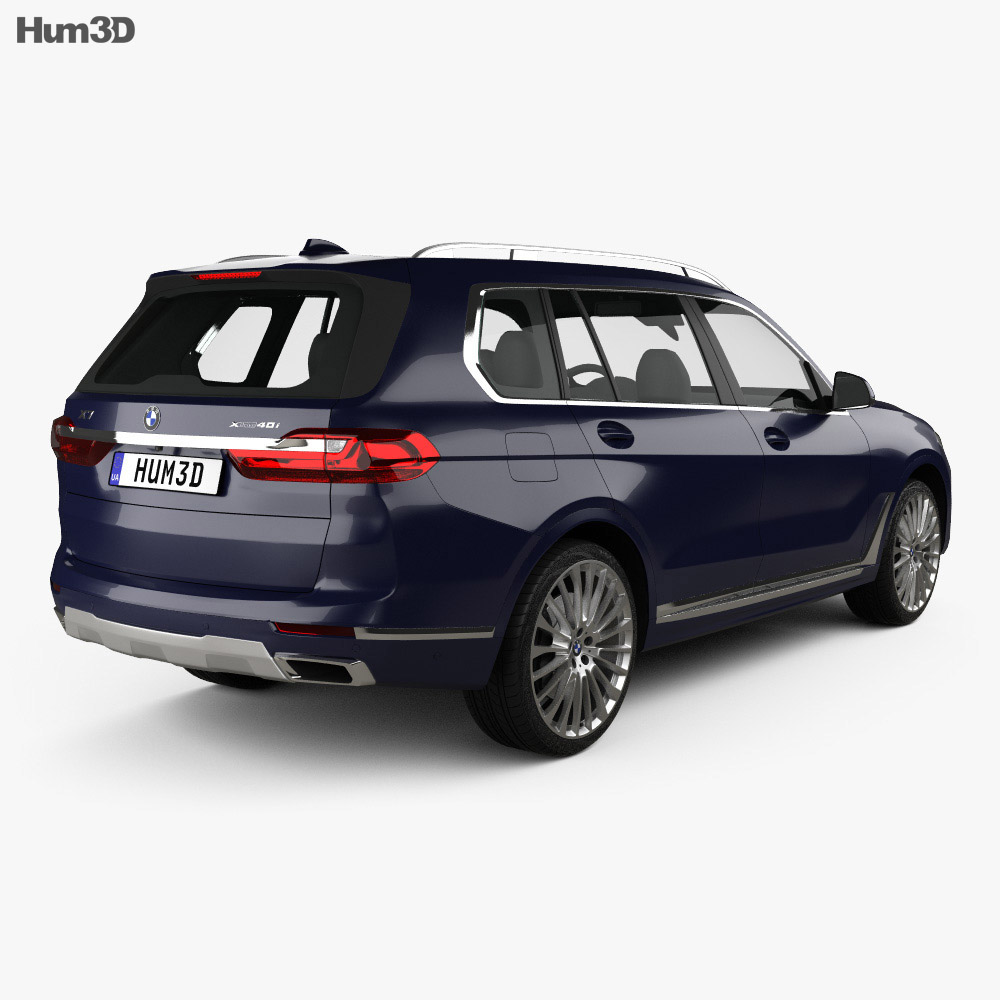 BMW X7 (G07) 2019 3d model