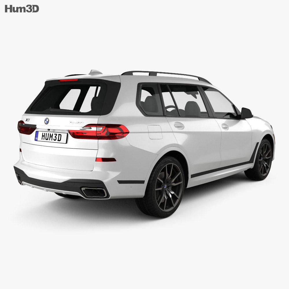 BMW X7 M-Sport 2019 3d model