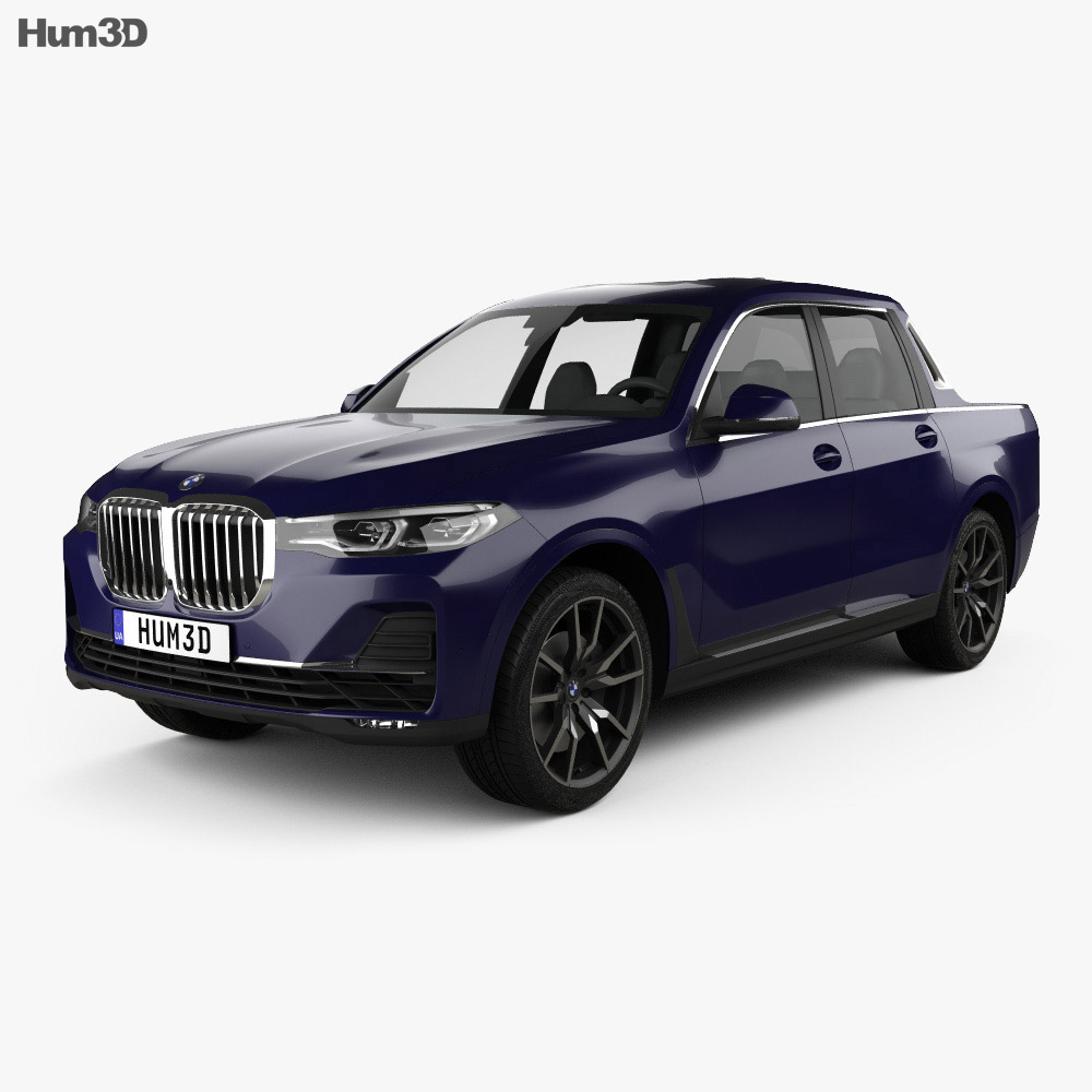 BMW X7 Pick-up 2019 3d model