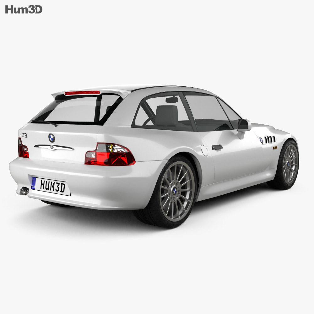 Bmw Z Forum: BMW Z3 Coupe (E36/8) 1999 3D Model
