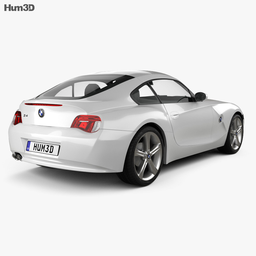 Bmw Z4 E85 Coupe 2002 3d Model Vehicles On Hum3d
