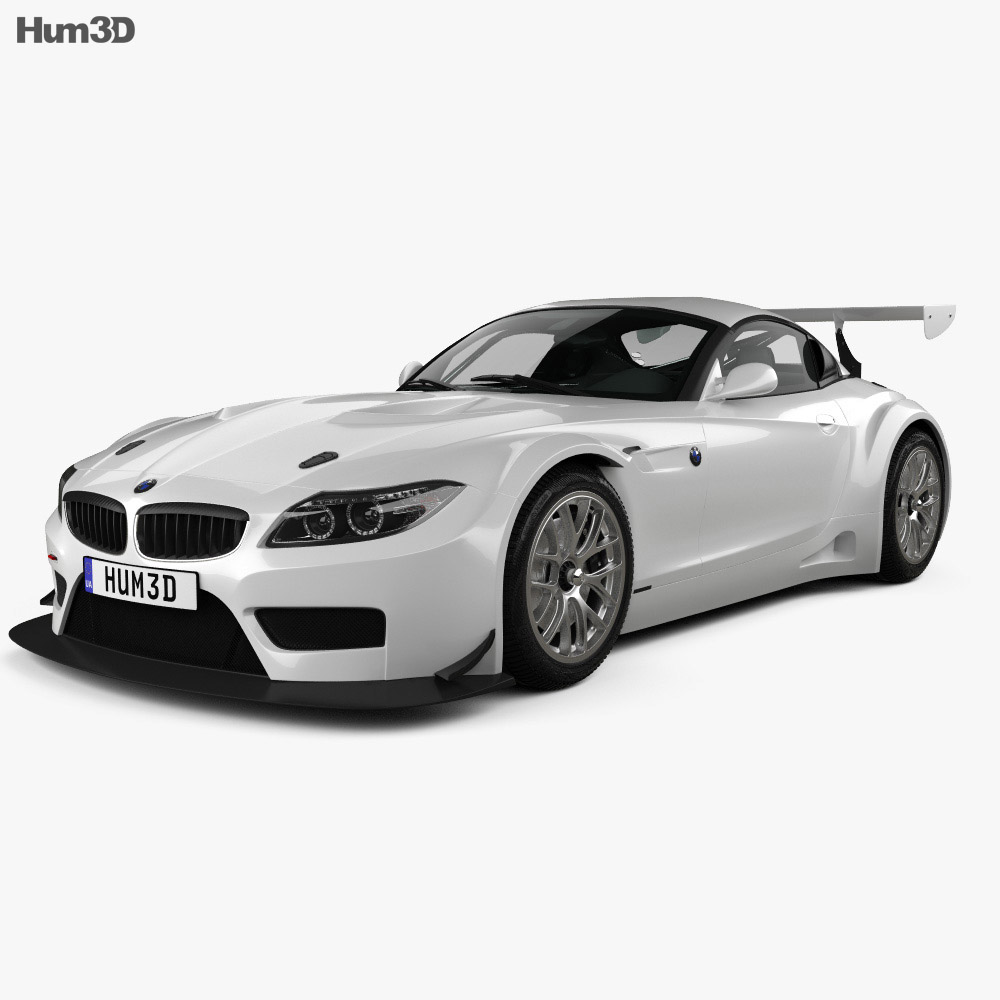 BMW Z4 GT3 2010 3d model