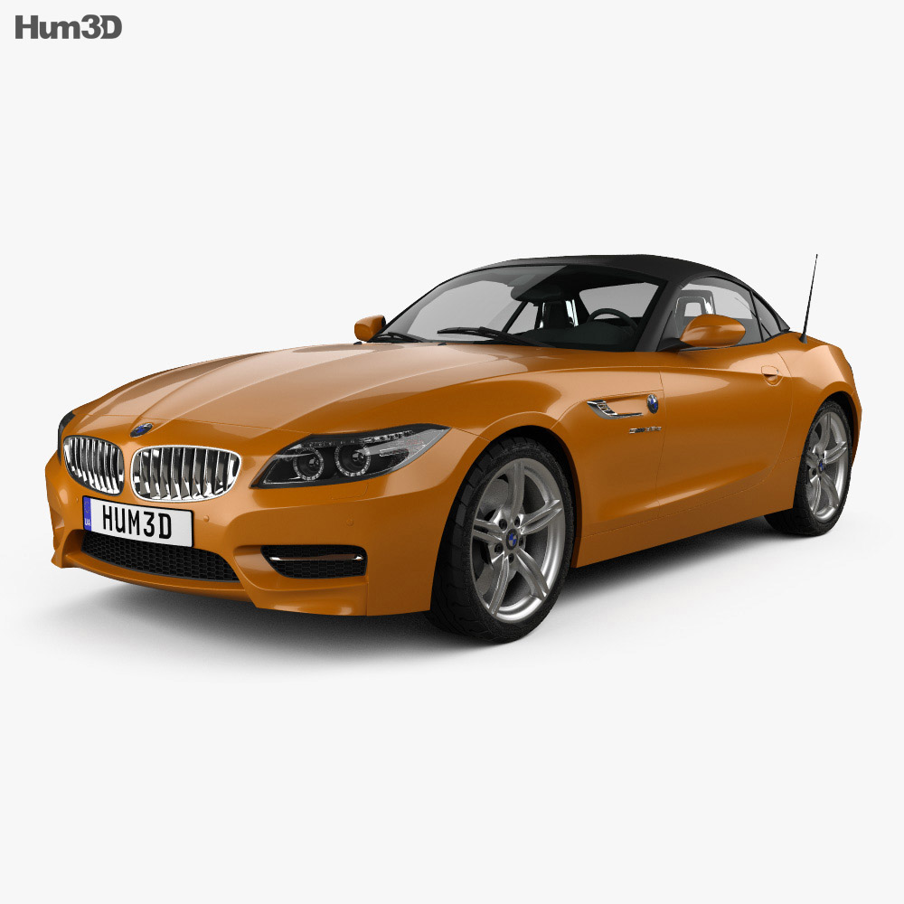 Bmw Z4 Convertible Price: BMW Z4 (E89) Roadster 2013 3D Model