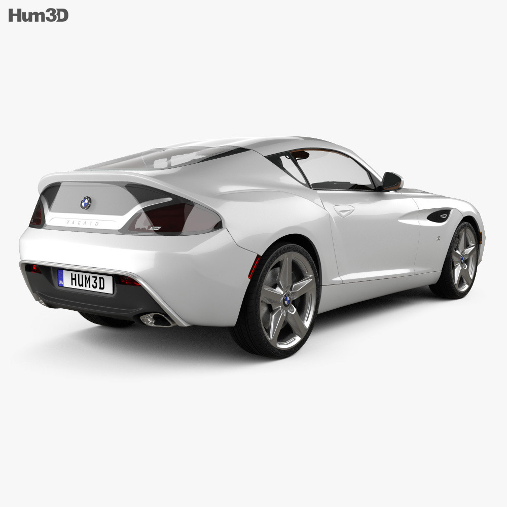 BMW Zagato Coupe 2012 3d model