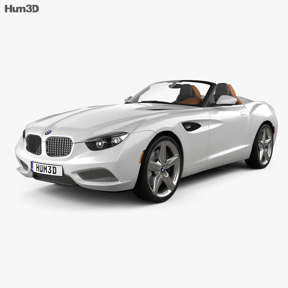 BMW Zagato Roadster 2012 3d model