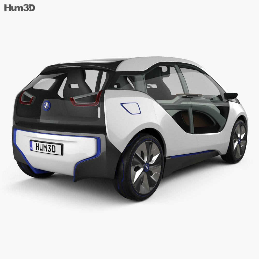 BMW i3 concept 2012 3d model