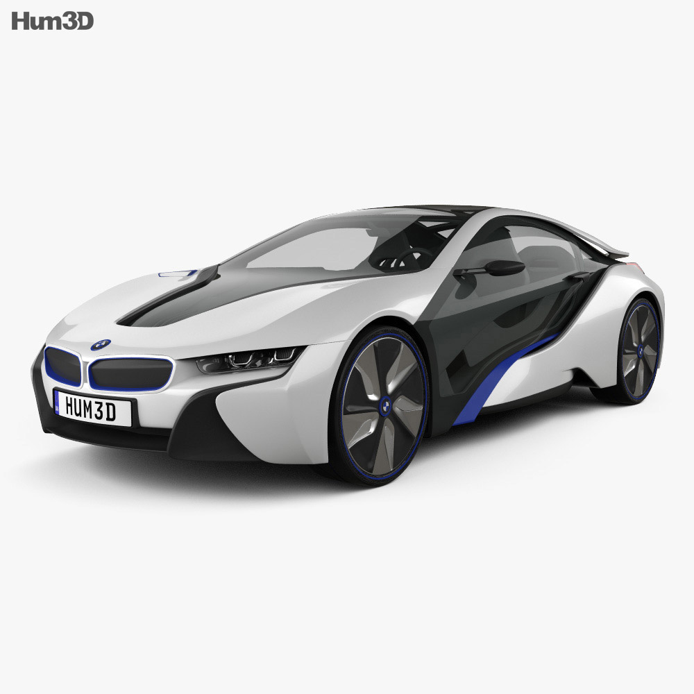 Bmw I8 Concept 2013 3d Model Vehicles On Hum3d