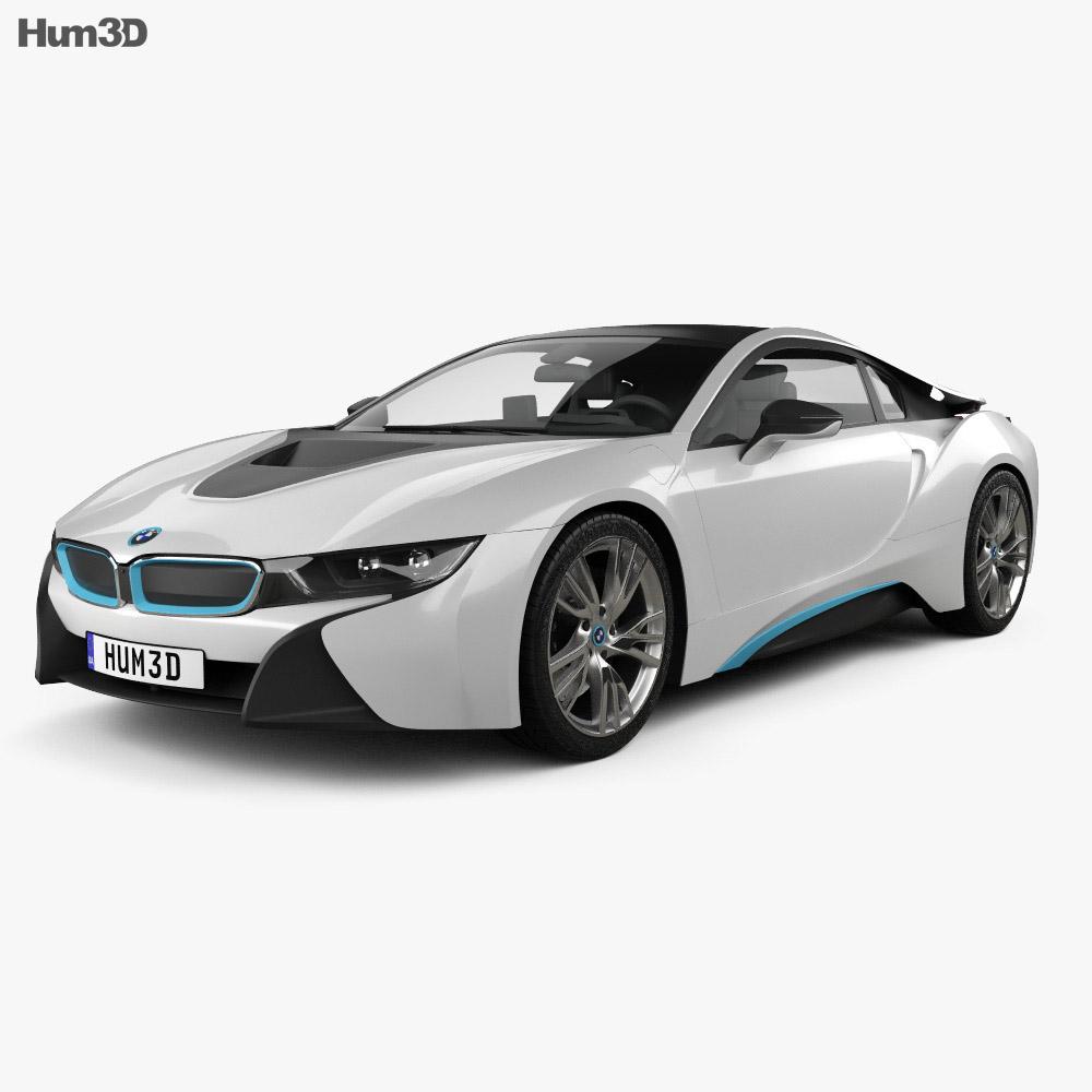 BMW i8 2014 3d model